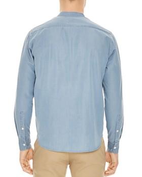 Sandro - Mao Chambray Slim Fit Shirt