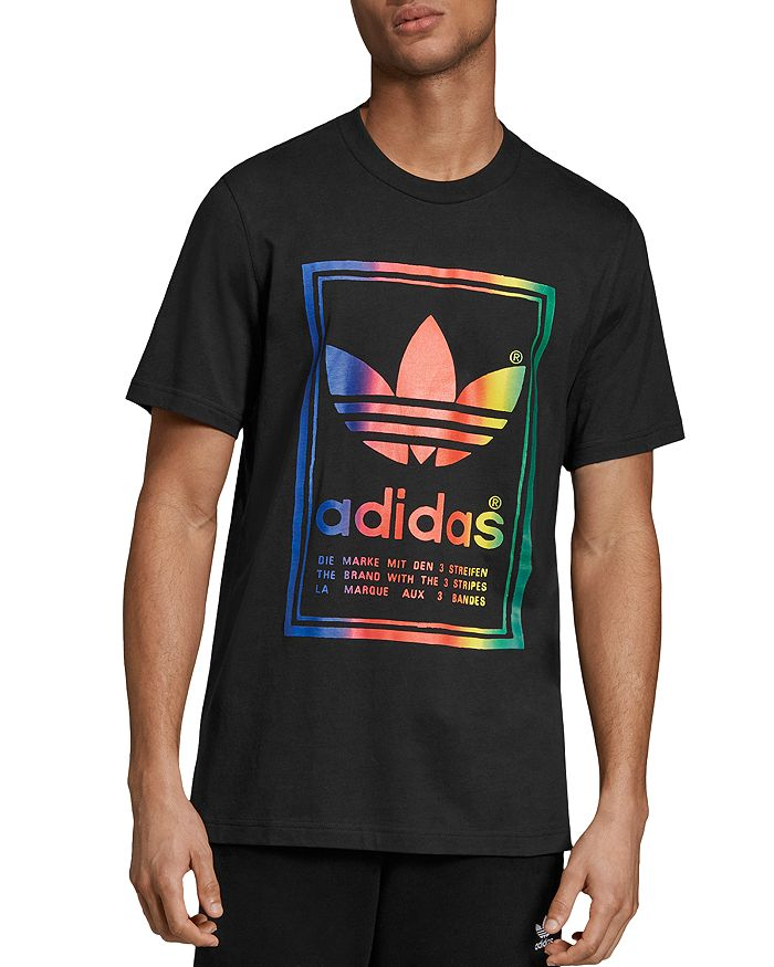 adidas Originals - Vintage Rainbow Graphic Tee