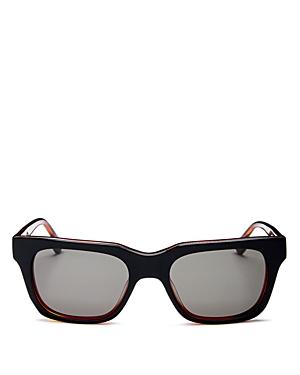 Le Specs Luxe Unisex Fellini Square Sunglasses, 52mm