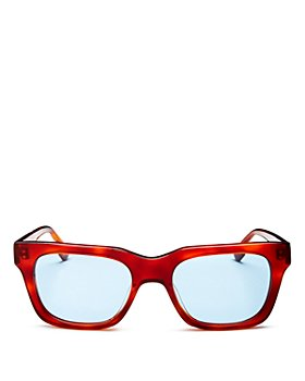 Le Specs Luxe - Unisex Fellini Square Sunglasses, 52mm