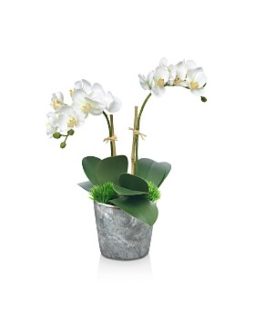 Diane James Home - Blooms Small Orchid Faux Floral Arrangement