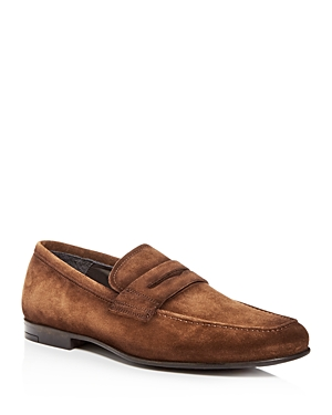 To Boot New York Men\\\'s Corbin Suede Penny Loafers