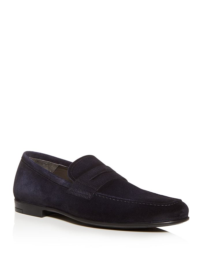 To Boot New York - Men's Corbin Suede Penny Loafers