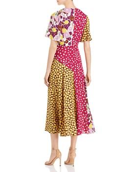 kate spade new york - Swing Mixed-Print Dress