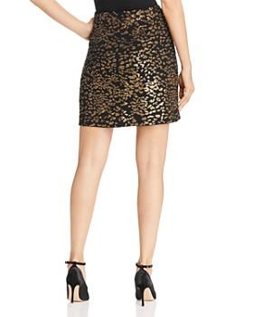 Elie Tahari - Cici Sequined Leopard Skirt