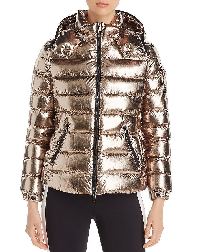 Moncler - Bady Metallic Down Coat
