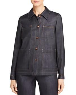 Lafayette 148 New York - Esmeralda Contrast-Stitched Jacket