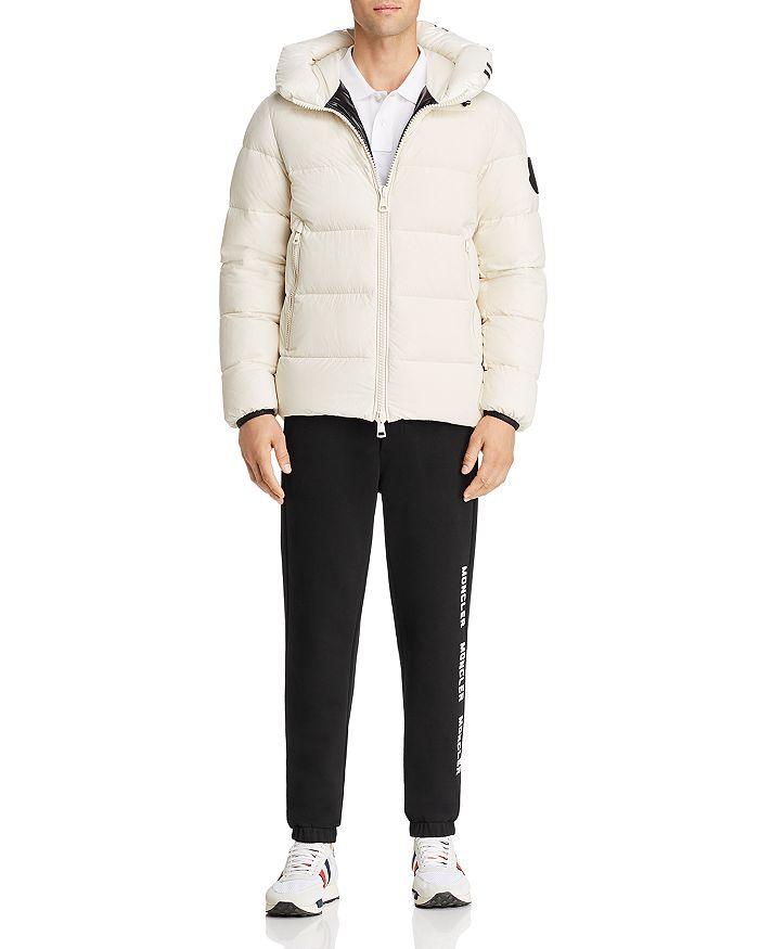 Moncler - Dubois Down Jacket, Polo Shirt & Graphic Sweatpants