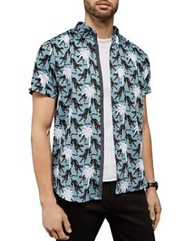 Ted Baker - Patrick Panther Print Slim Fit Shirt