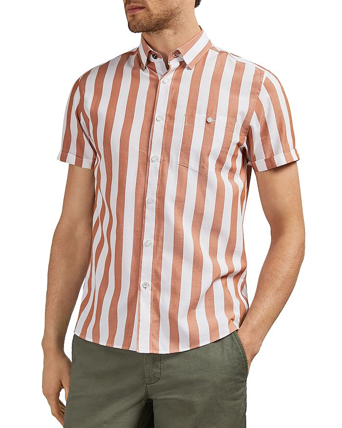 Ted Baker - Marki Striped Slim Fit Shirt