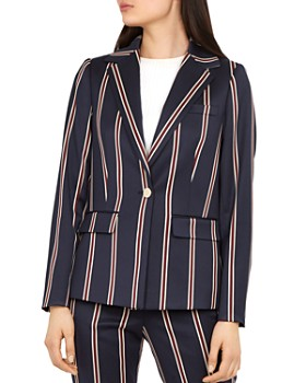 09c67015 Ted Baker - Working Title Haryee Striped Blazer ...