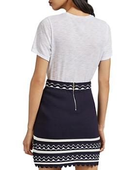 Ted Baker - Isibel Scalloped Mini Skirt