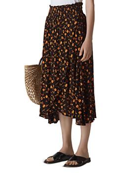 c06430f12d Whistles - Aster Floral Midi Skirt ...