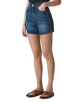 Whistles - High-Rise Denim Shorts
