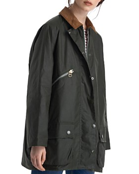 c593bf3c5784 Barbour - by ALEXACHUNG Edith Waxed Cotton Jacket ...