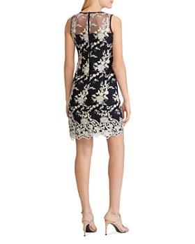 Ralph Lauren - Lace-Embroidery Sheath Dress