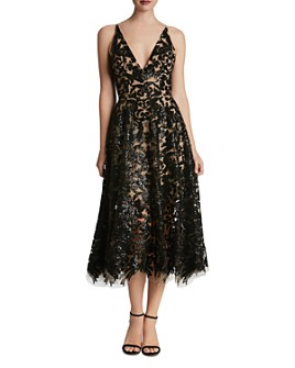Dress the Population - Blair Sequin Lace Dress