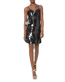MICHAEL Michael Kors - Sequined Crepe-Jersey Slip Dress