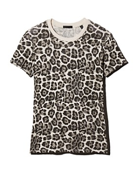 ATM Anthony Thomas Melillo - Leopard Schoolboy Tee