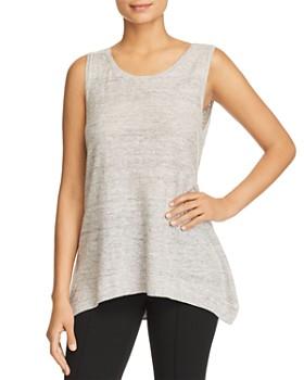 Donna Karan - Linen Sweater Tank