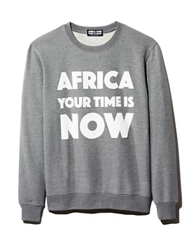 Africa Your Time is Now - Graphic Sweatshirt