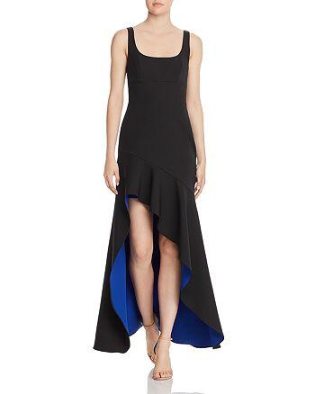 BCBGMAXAZRIA - Crepe High-Low Gown