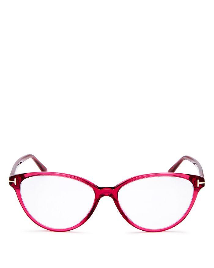 Tom Ford - Women's Cat Eye Blue Filter Glasses, 53mm