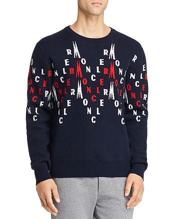 Moncler - Allover-Logo Wool Sweater