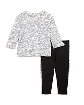 Splendid - Girls' Leopard Sweatshirt & Leggings Set, Baby - 100% Exclusive