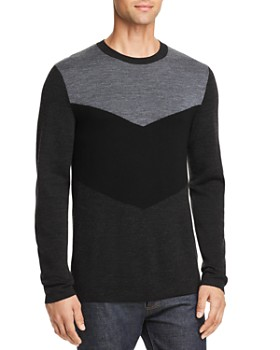 Theory - Detroe Milos Color-Block Sweater -  100% Exclusive