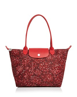Longchamp - Le Pliage Fleur Small Shoulder Tote