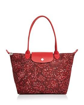Longchamp - Le Pliage Fleur Medium Shoulder Bag