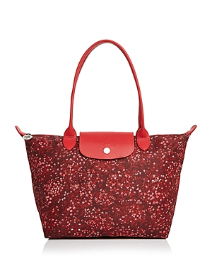Longchamp Le Pliage Fleur Small Shoulder Tote
