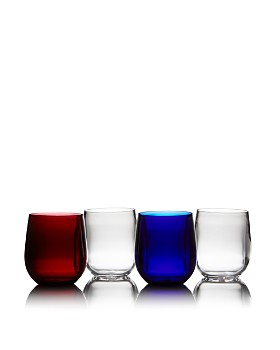 Caspari - Acrylic Tumbler, Set of 4 - 100% Exclusive