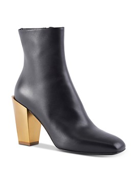 Salvatore Ferragamo - Women's Block Heel Ankle Booties