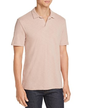 Theory - Cosmos Regular Fit Slub-Knit Polo Shirt