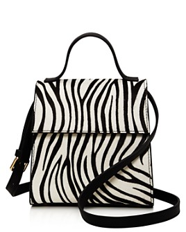 AQUA - Zebra-Print Crossbody - 100% Exclusive