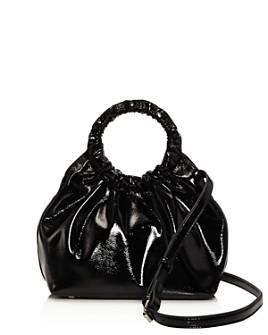 AQUA - Ruffled Circle Handle Bag - 100% Exclusive