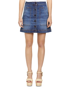 Sanctuary - Lena Denim Mini Skirt