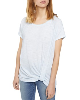 Sanctuary - Sunny Days Twist-Front Tee