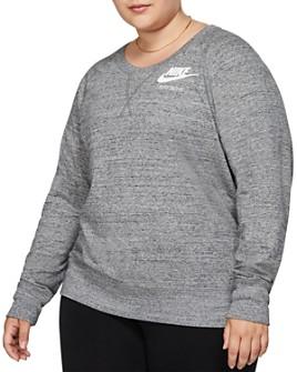 Nike Plus - Lightweight Logo Sweatshirt