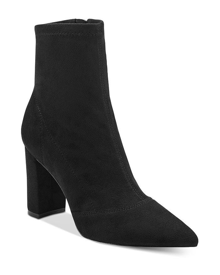 Marc Fisher LTD. - Women's Pointed Toe Block Heel Booties