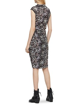 ALLSAINTS - Cancity Leofall Leopard Print Wrap Dress - 100% Exclusive