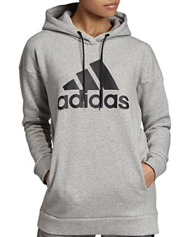 Adidas - Badge Of Sport Fleece Hooded Sweatshirt