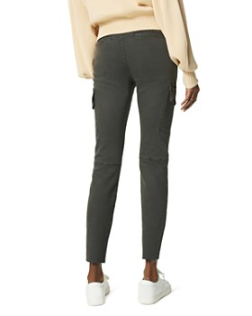 Joe's Jeans - The Charlie Skinny Cargo Jeans in Charcoal Gray