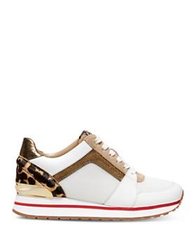 MICHAEL Michael Kors - Women's Billie Mixed Media Sneakers