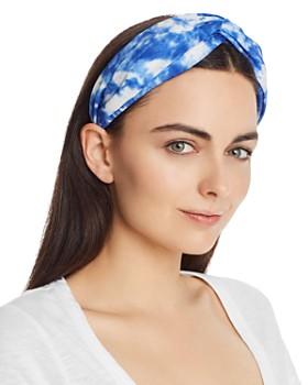 AQUA - Blue Tie-Dyed Twist Headband - 100% Exclusive