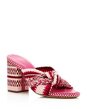 ANTOLINA - Women's Woven Block Heel Sandals