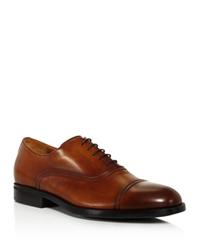 Bruno Magli - Men's Butler Leather Cap-Toe Oxfords