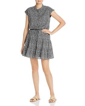 Rebecca Minkoff - Ollie Botanical-Print Mini Dress